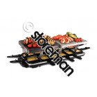 Classic 12 pan raclette + pierre + grille de cuiss - 1956056 - RUSSELL HOBBS